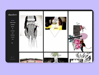 shaizik#13 art develop illustration web design website webdesign