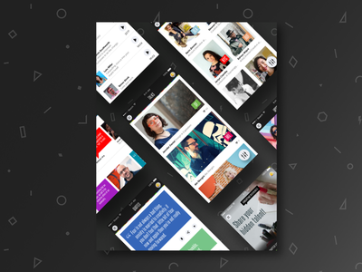 CM Project Thumbnail mobile app creative mornings thumbnail project portfolio