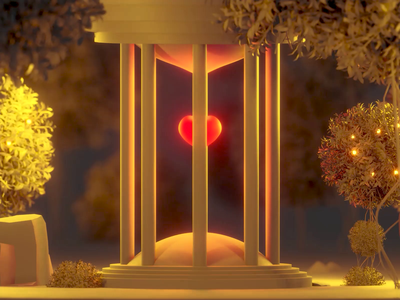 Take care of your heart 3d heart c4d 3dart 3d illustration piqo heart 3d game blender 3d cartoon game 3d