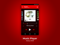 100 Days of UI Challenge - Daily UI - day 09 - Music Player