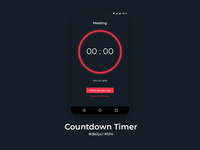 100 Days of UI Challenge - Daily UI - day 14 - Countdown Timer