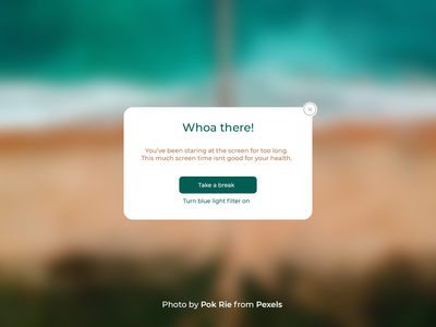 100 Days of UI Challenge - Daily UI - day 16 - Pop-up/Overlay