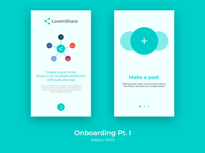 Daily UI 023 - Onboarding