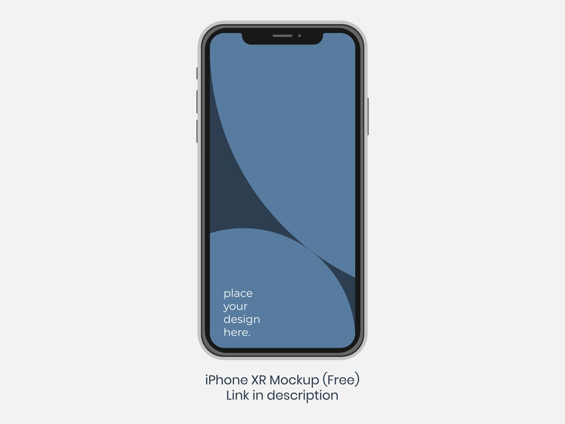 Apple iPhone XR - PSD - Free download iphone xr xr iphone apple free psd giveaway freebie mockup free mockup free download psd free download free illustrator vector design photoshop