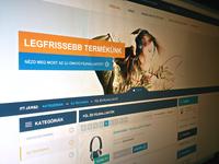 Hangvagy webshop listpage