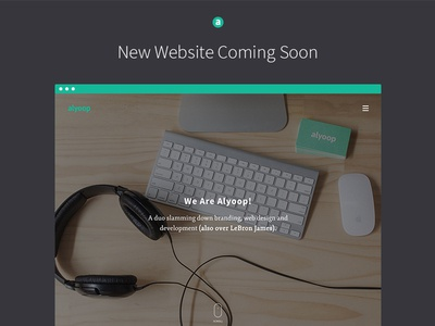 Alyoop Website 2.0 design hero studio new animation typography photography ux ui web