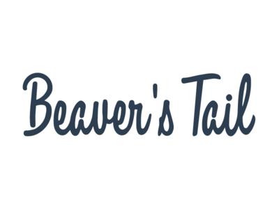 Beaver's Tail Logo design branding logo typography lettering portfolio custom beaver friendly fun