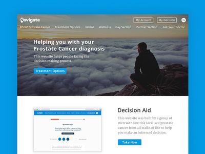Navigate | Prostate Decision Aid Landing Page