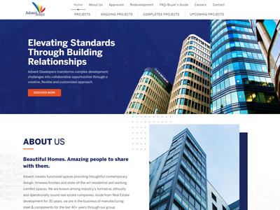 Real Estate and Developers Website By Kazi Solutions photoshop wordpress website design wordpress website design web development landing page design landing page homepage elementor theme builder elementor