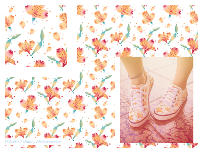 Pattern «Sunny Alstroemeria»