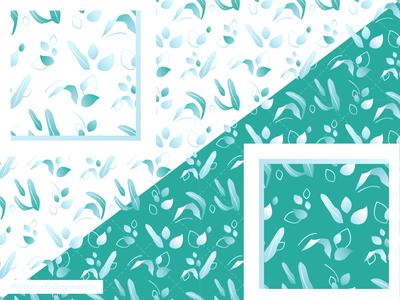 """Pattern """"Falling Leaves"""""""