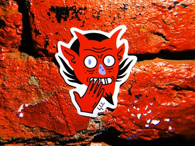 Cheerful Satan by luladmitrieva