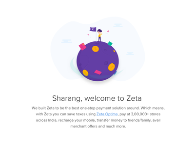 Welcome Emailer card money character illustration world verify verification payment ux ui email