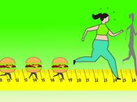 Fat Woman Running 01