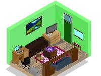 Room Isometric