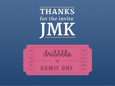 Thanks @jmk! new ticket invite debut