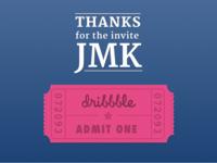 Thanks @jmk!