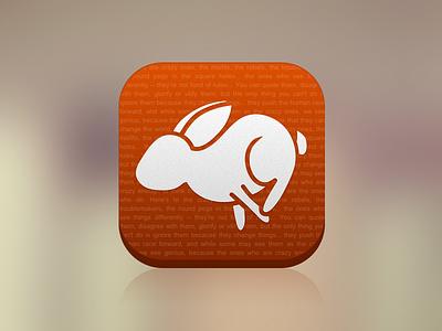 Blurr blurr app icon ios iphone apple rabbit hare bunny