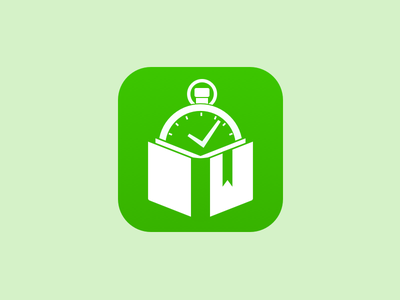 Blurr Icon - Insight Needed blurr app icon ios iphone apple stopwatch timer book bookmark
