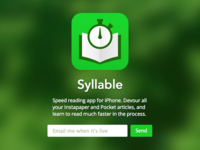Syllable App Teaser