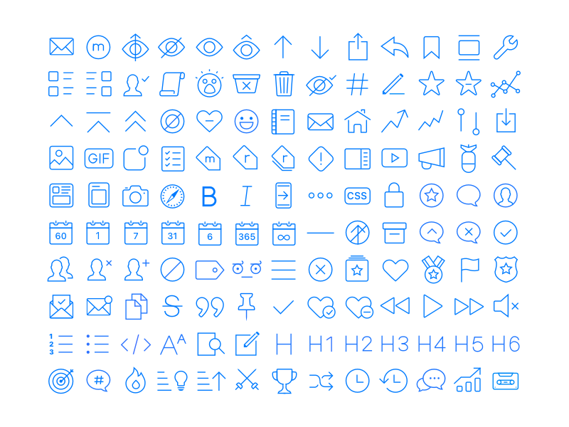 Apollo App Icons by ChristianSelig on Dribbble