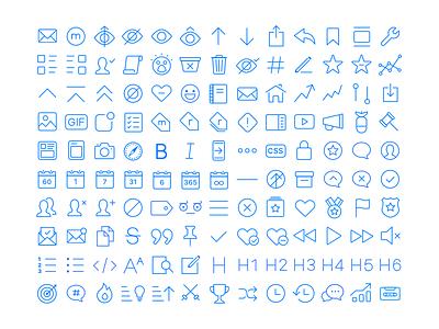 Apollo App Icons features markdown vote set thin ipad apple icon ios iphone app reddit