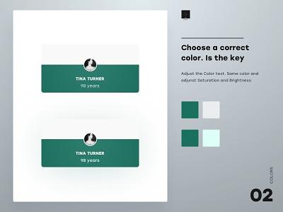 Choose a right Color color choose website web ux branding design app