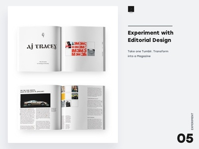 Experiment with Editorial Design