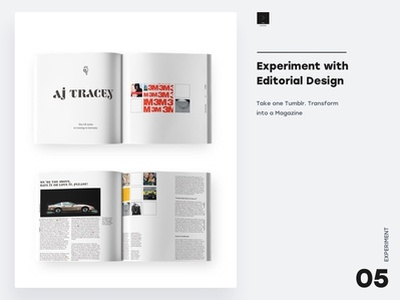 Experiment with Editorial Design editorial art dina5 music urban grime aj tracey magazines layouts editorial design