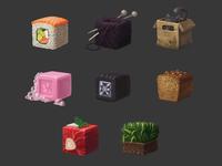 texture cubes
