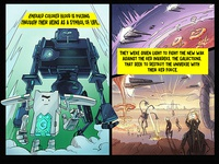 Comics about robots/mining machines cryptocurrency