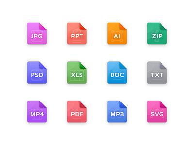Freebie: File Icons figma free ui design ux design design dashboard icons set icon set file types types files essentials icon pack icon icons ui