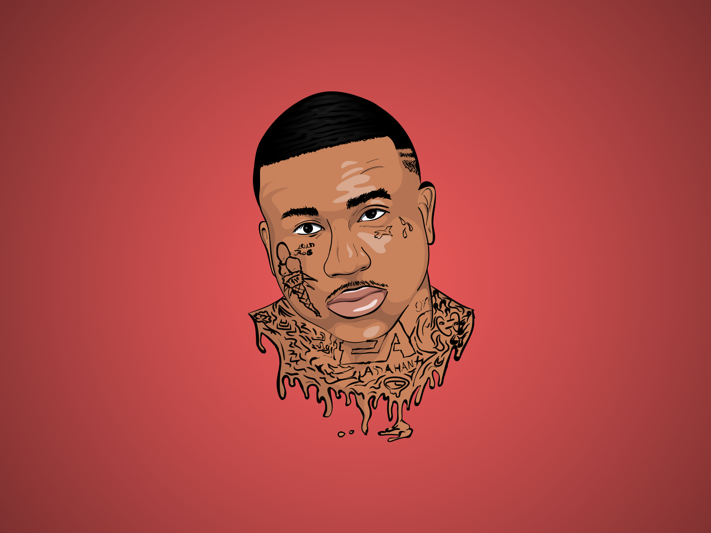 Gucci Mane Cartoon Portrait By Konrad On Dribbble