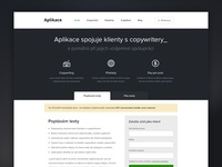 Copywriting web app