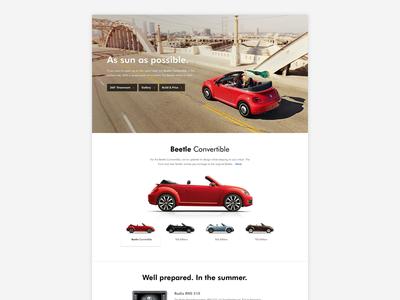 VW Redesign - Product detail sneak peak