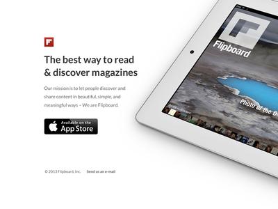 Bright - iPad app product page PSD freebie