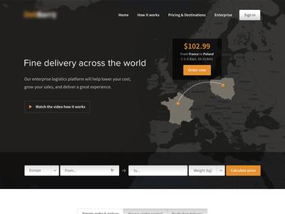 Delivery Service Website