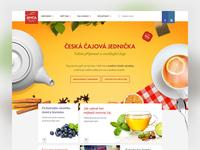 Jemca Tea Homepage