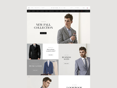 New Pietro Filipi Concept [Category page] store men suits business collection clothes fashion coat shop czech pietro pietro filipi