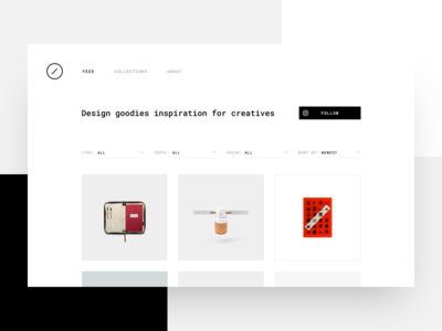Nesh Supply - Feed grid items nesh design objects design goodies ales nesetril monotype minimal inspiration feed feed nesh suppy