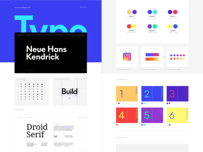 The Perfect Grid - Behance Preview