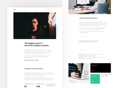 New About Page ales nesetril may1reboot designer about about page about me portfolio about portfolio personal site