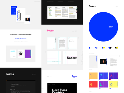 The Perfect Grid on Behance ales nesetril how-to creative guide personal brand pdf ebook book instagram ebook ebook instagram the perfect grid