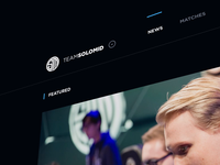 TSM Website Concept - Video