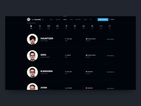 TSM Website Concept - Teams