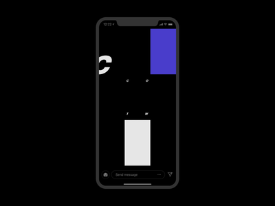 Colors of the Week - IG Stories Intro nesetril ales nesetril visual design pr social media intro instagram branding color inspiration glitch ui ui movement glitch effects ig stories stories layout stories intro instagram stories intro colors color combination personal brand glitch