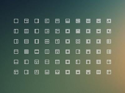 Layouts icons freebie free layout layouts icons pixel download psd website 13px small tiny