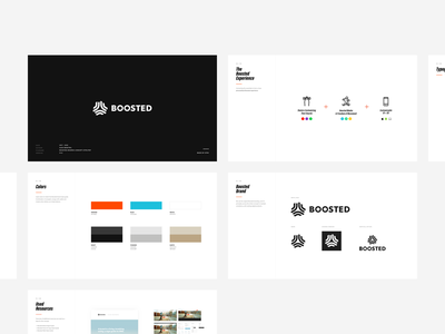 Boosted - Presentation Slides brand board skateboarding ales nesetril strv keynote design style slide boosted boards boosted presentation slides design concept slide deck deck slides presentation