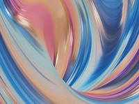 Abstract Composition #17 stripes waves blender animation 3d screesaver style fashion render