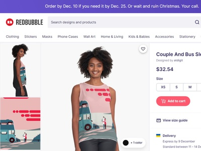 Welcome To My New Redbubble Online Shop art online shop fashion products illustration minimalism design app redbubble